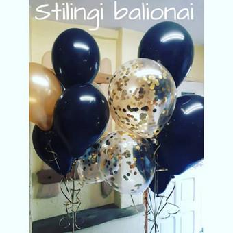 Pigiausi helio balionai Šiauliuose / Stilingi balionai / Darbų pavyzdys ID 546239