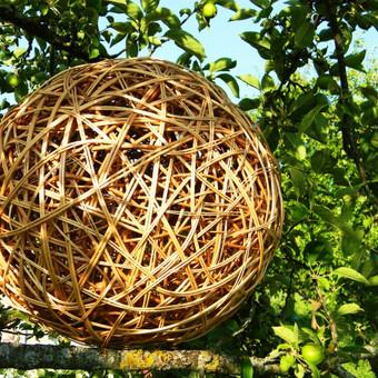 dekoratyvus kamuolys. Kaina: 45 €