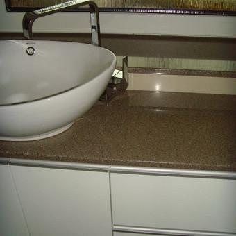"""Virtuvės baldai. Vonios baldai. Akmuo. UAB """"Forestė"""" / Dizainerė Audronė Baldai-Interjeras / Darbų pavyzdys ID 548421"""