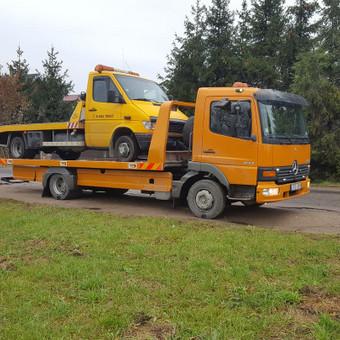 Tralas Traliukas Techninė pagalba kelyje platforma iki 4-t / Tralas Traliukas / Darbų pavyzdys ID 549159