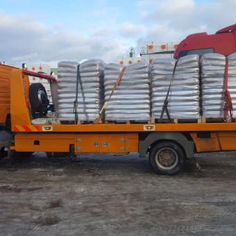 Tralas Traliukas Techninė pagalba kelyje platforma iki 4-t / Tralas Traliukas / Darbų pavyzdys ID 549165
