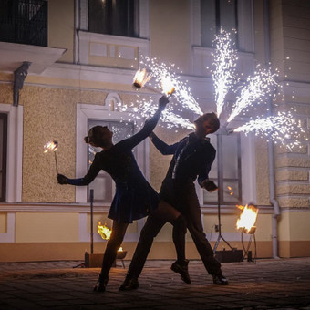 Fakyrų ugnies šou / Ugnies teatras / Darbų pavyzdys ID 550031