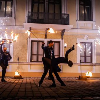 Fakyrų ugnies šou / Ugnies teatras / Darbų pavyzdys ID 550033
