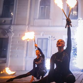 Fakyrų ugnies šou / Ugnies teatras / Darbų pavyzdys ID 550035