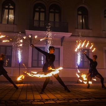 Fakyrų ugnies šou / Ugnies teatras / Darbų pavyzdys ID 550039