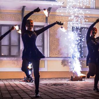 Fakyrų ugnies šou / Ugnies teatras / Darbų pavyzdys ID 550179