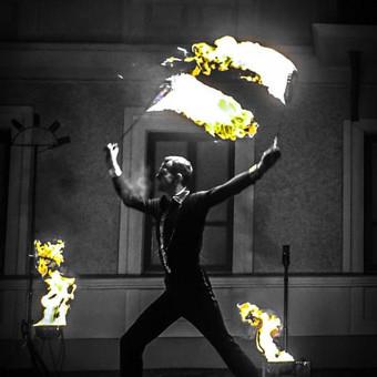 Fakyrų ugnies šou / Ugnies teatras / Darbų pavyzdys ID 550181