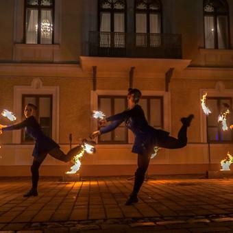 Fakyrų ugnies šou / Ugnies teatras / Darbų pavyzdys ID 550183