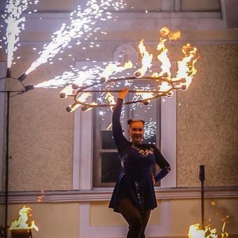 Fakyrų ugnies šou / Ugnies teatras / Darbų pavyzdys ID 550185