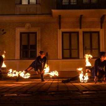 Fakyrų ugnies šou / Ugnies teatras / Darbų pavyzdys ID 550189