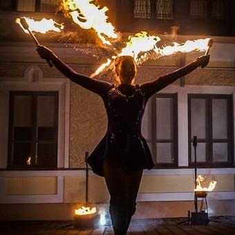 Fakyrų ugnies šou / Ugnies teatras / Darbų pavyzdys ID 550191