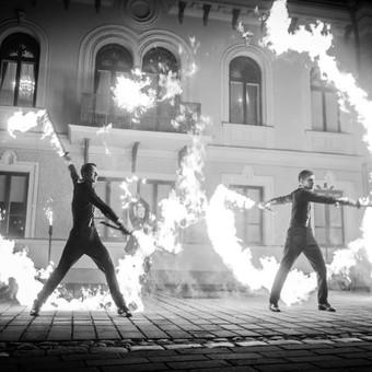 Fakyrų ugnies šou / Ugnies teatras / Darbų pavyzdys ID 550195