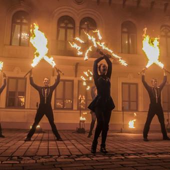 Fakyrų ugnies šou / Ugnies teatras / Darbų pavyzdys ID 550197