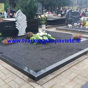Paminklų, antkapių gamyba, kapų tvarkymo paslaugos / TVARKINGA KAPAVIETĖ / Darbų pavyzdys ID 550207