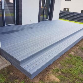 Viskas ko reikia terasos įrengimui - Ekoterasa.lt / UAB TERASIMA / Darbų pavyzdys ID 550357