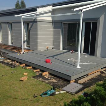 Viskas ko reikia terasos įrengimui - Ekoterasa.lt / UAB TERASIMA / Darbų pavyzdys ID 550361
