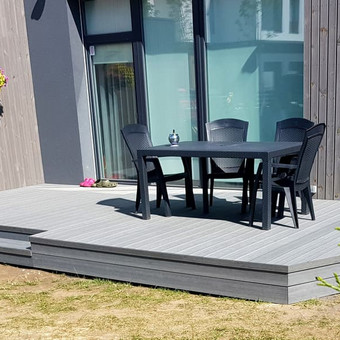Viskas ko reikia terasos įrengimui - Ekoterasa.lt / UAB TERASIMA / Darbų pavyzdys ID 550373