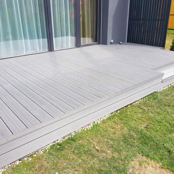 Viskas ko reikia terasos įrengimui - Ekoterasa.lt / UAB TERASIMA / Darbų pavyzdys ID 550379