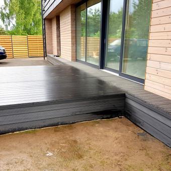 Viskas ko reikia terasos įrengimui - Ekoterasa.lt / UAB TERASIMA / Darbų pavyzdys ID 550387