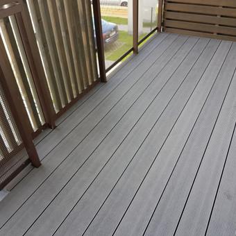 Viskas ko reikia terasos įrengimui - Ekoterasa.lt / UAB TERASIMA / Darbų pavyzdys ID 550389