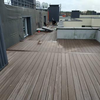 Viskas ko reikia terasos įrengimui - Ekoterasa.lt / UAB TERASIMA / Darbų pavyzdys ID 550391