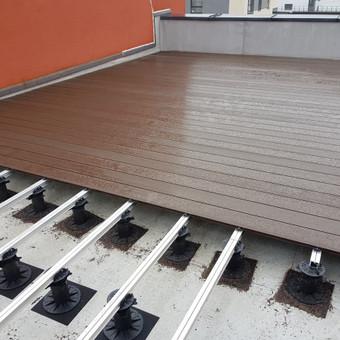 Viskas ko reikia terasos įrengimui - Ekoterasa.lt / UAB TERASIMA / Darbų pavyzdys ID 550393