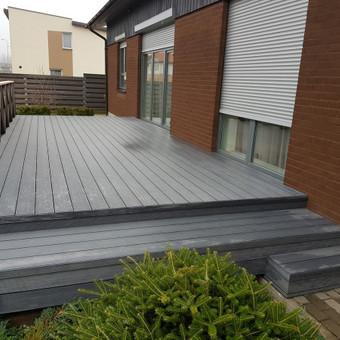 Viskas ko reikia terasos įrengimui - Ekoterasa.lt / UAB TERASIMA / Darbų pavyzdys ID 550413