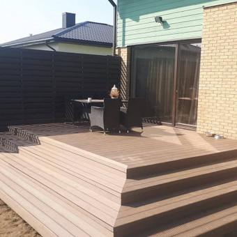 Viskas ko reikia terasos įrengimui - Ekoterasa.lt / UAB TERASIMA / Darbų pavyzdys ID 550423