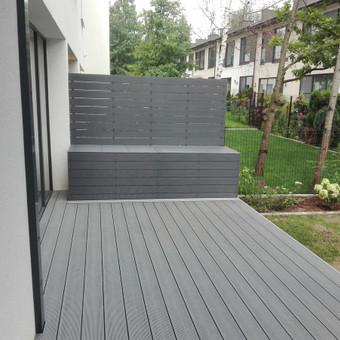 Viskas ko reikia terasos įrengimui - Ekoterasa.lt / UAB TERASIMA / Darbų pavyzdys ID 550429