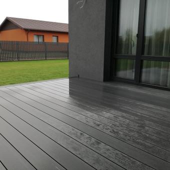 Viskas ko reikia terasos įrengimui - Ekoterasa.lt / UAB TERASIMA / Darbų pavyzdys ID 550433