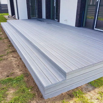 Viskas ko reikia terasos įrengimui - Ekoterasa.lt / UAB TERASIMA / Darbų pavyzdys ID 550439