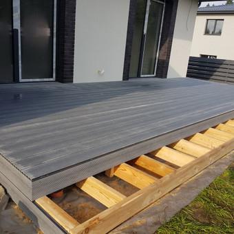 Viskas ko reikia terasos įrengimui - Ekoterasa.lt / UAB TERASIMA / Darbų pavyzdys ID 550441