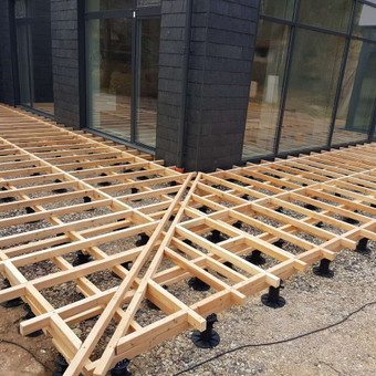 Viskas ko reikia terasos įrengimui - Ekoterasa.lt / UAB TERASIMA / Darbų pavyzdys ID 550445