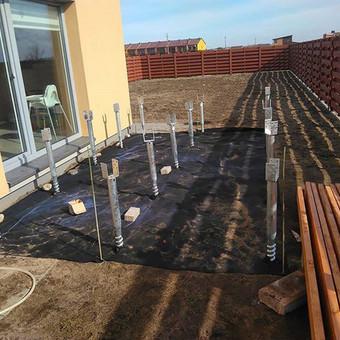 Viskas ko reikia terasos įrengimui - Ekoterasa.lt / UAB TERASIMA / Darbų pavyzdys ID 550449