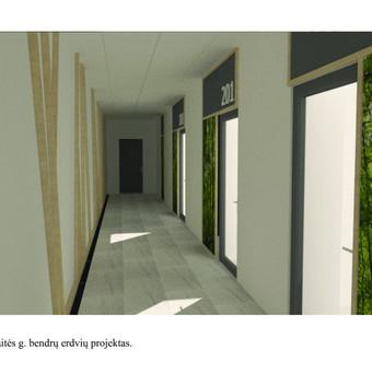 Interjero dizainas. Ofiso patalpų projektavimas. / Bright mark / Darbų pavyzdys ID 550723