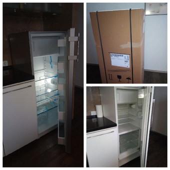 Seno šaldytuvo pakeitimas nauju.