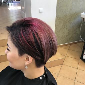 Kirpėjas, meistras, plaukų stilistas / Nijole Veliulė / Darbų pavyzdys ID 445719