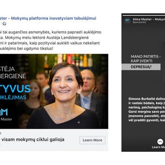 Socialinių tinklų marketingas / Austė Musteikytė / Darbų pavyzdys ID 554065