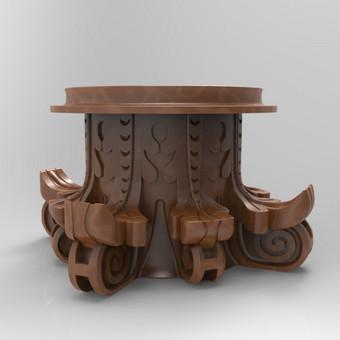 3D modeliavimas, spausdinimas, vizualizacijų kūrimas / Gintarė Černiauskaitė / Darbų pavyzdys ID 77040