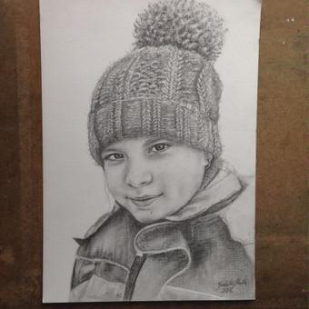 A4 formatas, pieštukas
