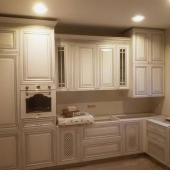 """Virtuvės baldai. Vonios baldai. Akmuo. UAB """"Forestė"""" / Dizainerė Audronė Baldai-Interjeras / Darbų pavyzdys ID 555527"""