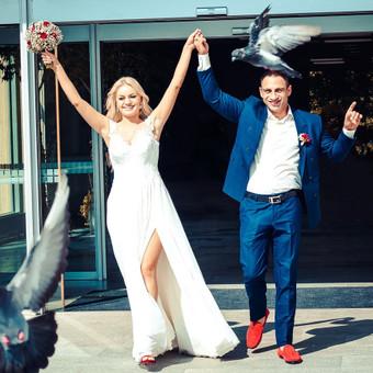 Vestuvių filmavimas - Turime ir fotografą! / Vestuvių kinas / Darbų pavyzdys ID 556487