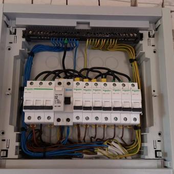 Elektros instaliacijos montavimo darbai / Alvydas / Darbų pavyzdys ID 556623