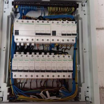 Elektros instaliacijos montavimo darbai / Alvydas / Darbų pavyzdys ID 556625
