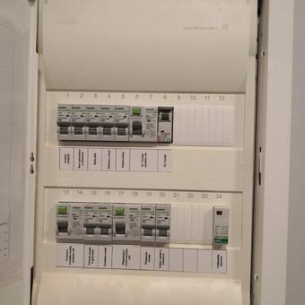 Elektros instaliacijos montavimo darbai / Alvydas / Darbų pavyzdys ID 556629