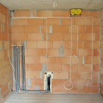 Elektros instaliacijos montavimo darbai / Alvydas / Darbų pavyzdys ID 556633