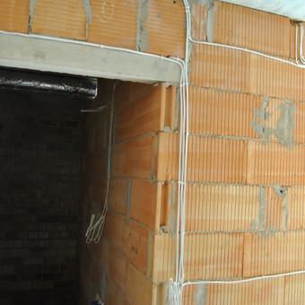 Elektros instaliacijos montavimo darbai / Alvydas / Darbų pavyzdys ID 556641