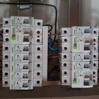 Elektros instaliacijos montavimo darbai / Alvydas / Darbų pavyzdys ID 556661