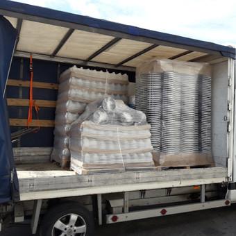 Krovinių pervežimas / Evaluto transportas / Darbų pavyzdys ID 557189