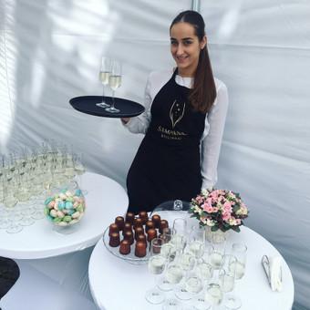 Šventė Stilingai - vaišių/šampano staliukas + aptarnavimas / Gabrielė Venckūnaitė / Darbų pavyzdys ID 558553